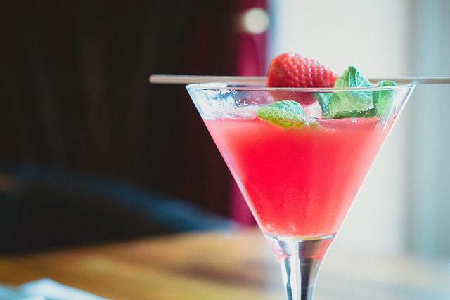 Aloe Vera Frozen Strawberry Daiquiri
